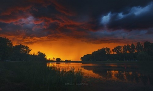 Zdjęcie POLSKA / Wielkopolska / Września / Skyfall (3)
