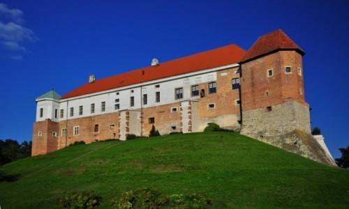 Zdjecie POLSKA / Woj. �wi�tokrzyskie / Sandomierz / Zamek rano...