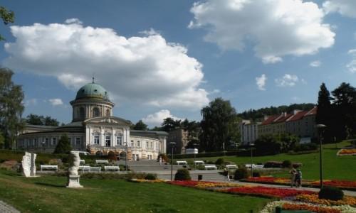 Zdjęcie POLSKA / dolnoslaskie / Lądek Zdrój / Hotel, sanatorium Wojciech