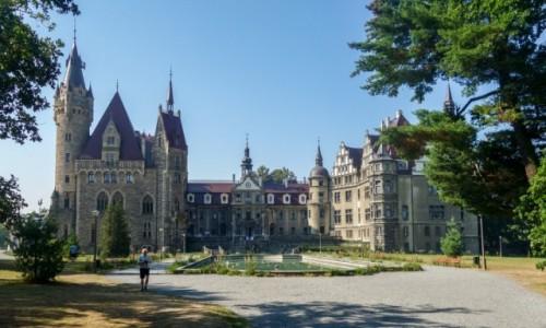 Zdjecie POLSKA / Opolskie / Moszna / Pałac Moszna