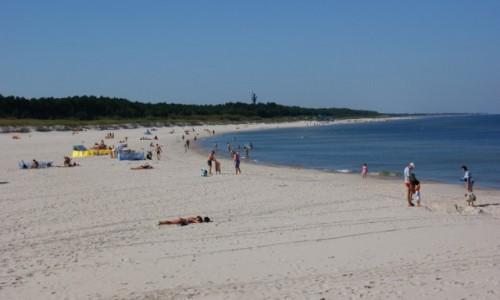 Zdjęcie POLSKA / Pomorze / Łeba / Łeba plaża