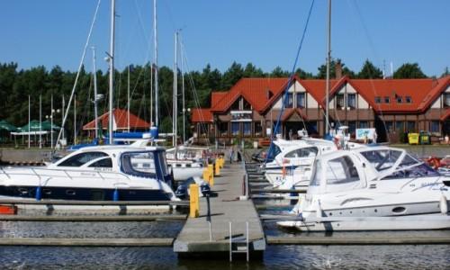 Zdjecie POLSKA / Pomorze / Łeba / Łeba port jachtowy