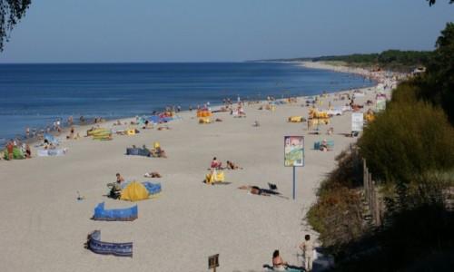 Zdjecie POLSKA / Pomorze / Łeba / Łeba plaża wschodnia