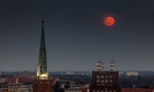 Zdjęcie POLSKA / Dolny Śląsk / Wrocław / Księżyc Żniwiarza