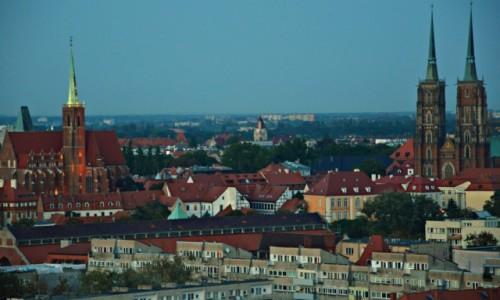 Zdjęcie POLSKA / - / Wrocław / Nad Wrocławiem