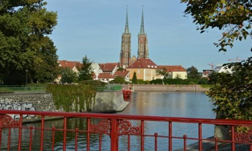 Zdjecie POLSKA / - / Wrocław / Na moście piaskowym