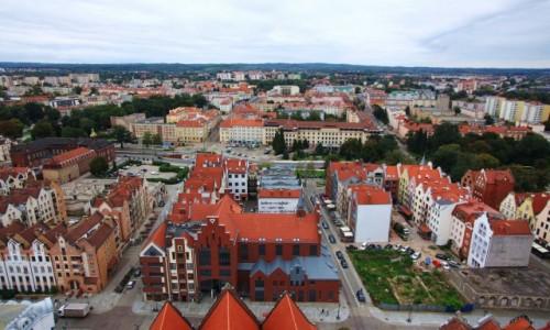 Zdjęcie POLSKA / Elbląg / Katedra św. Mikołaja / Widok na miasto
