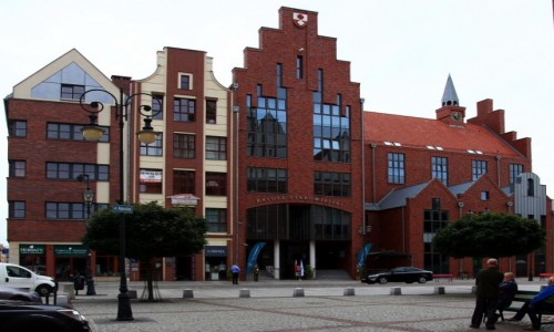 Zdjecie POLSKA / Elbl�g / Katedra �w. Miko�aja / Ratusz Staromie