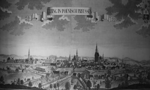 Zdjęcie POLSKA / Elbląg / Stare Miasto, Centrum Informacji Turystycznej / Na starej rycinie