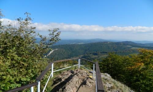 POLSKA / pieniny / w drodze na wysok� / panorama z Wysokiej