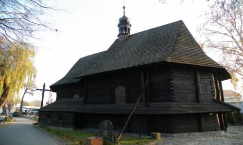 Zdjecie POLSKA / �l�sk Opolski / Strzelce opolskie, powiat strzelecki, wojew�dztwo opolskie / Ko�ci� drewnia