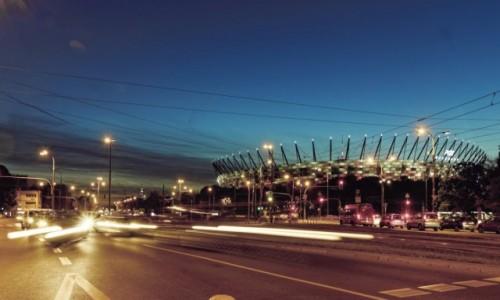 Zdjęcie POLSKA / Mazowieckie / Warszawa / Noc na Pradze