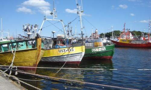 Zdjęcie POLSKA / morze / Ustka / Port Ustka