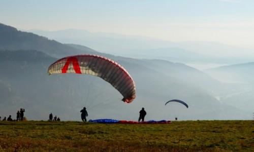 Zdjęcie POLSKA / Beskid Mały / Żar / sen o lataniu