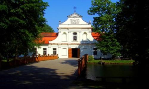 Zdjęcie POLSKA / lubelskie  / Zwierzyniec / - kościółek na wodzie -