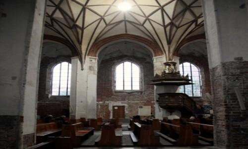 Zdjęcie POLSKA / Gdańsk / Kościół św. Katarzyny / Ambona