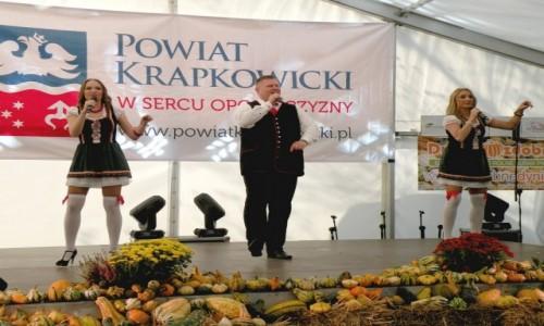POLSKA / opolskie / Krapkowice / Wyst�p na �wi�cie dyni