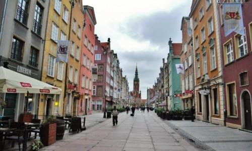Zdjęcie POLSKA / Pomorskie / Gdańsk / Wkierunku ratusza