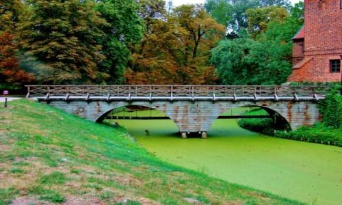 POLSKA / wojew�dztwo ��dzkie / Opor�w / Opor�w-most nad fos�