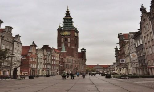 Zdjęcie POLSKA / Pomorskie / Gdańsk / Gdański ratusz