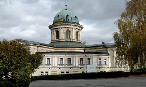 Zdjęcie POLSKA / dolnoślaskie / Lądek Zdrój / Sanatorium Wojciech, w innym ujęciu