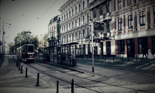 Zdjęcie POLSKA / - / Wrocław / Plac przed operą