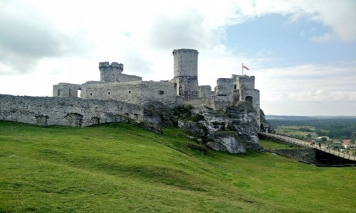 Zdjęcie POLSKA / śląskie / Ogrodzieniec / Ruiny zamku