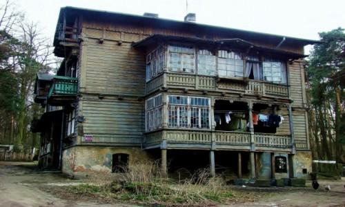 Zdjęcie POLSKA / województwo łódzkie / Łódź,ulica Popioły / Łódź-dawny dom letniskowy Teodora Steigerta z 1900 roku