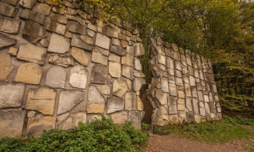 Zdjęcie POLSKA / lubelskie / Kazimierz Dolny / Kazimierska Ściana Płaczu...