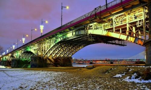POLSKA / mazowsze / Warszawa / Most  Józefa Poniatowskiego