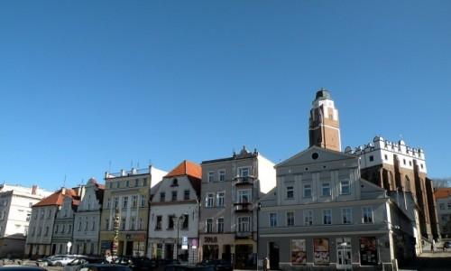 Zdjęcie POLSKA / opolskie / Paczków / Fragment rynku