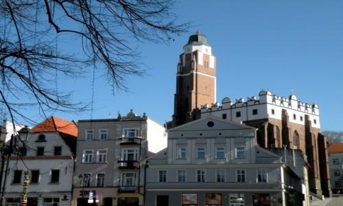 POLSKA / opolskie / Paczków / Fasady kamieniczek