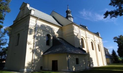 Zdjecie POLSKA / Lubelskie / Żółkiewka-Osada, powiat krasnostawski, województwo lubelskie / Kościól pw. św.