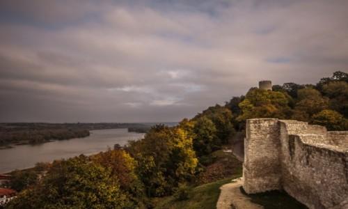 POLSKA / lubelskie / Kazimierz Dolny / Zamek w Kazimierzu