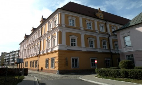 POLSKA / opolskie / Nysa / Pałac biskupi.
