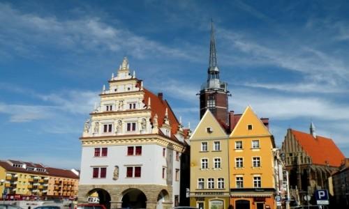 Zdjęcie POLSKA / opolskie / Nysa / W rynku