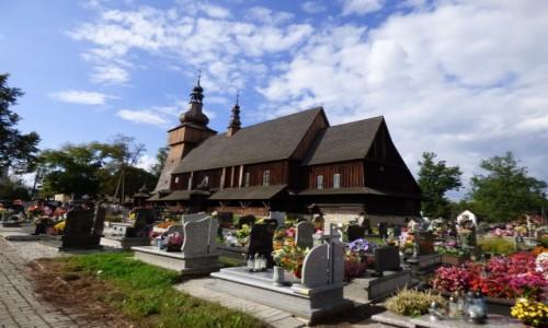 Zdjecie POLSKA / Górny Śląsk / Miedźna, powiat pszczyński, województwo śląskie / Drewniany kości