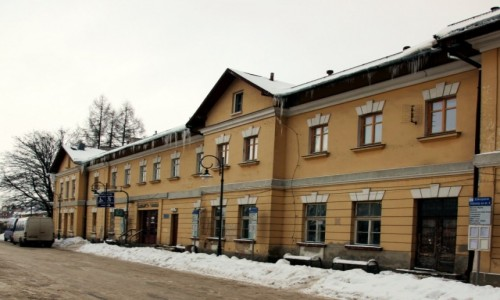 Zdjęcie POLSKA / Zakopane / Dworzec PKP / Przedmiot sporu