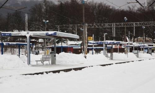 Zdjęcie POLSKA / Zakopane / Dworzec PKP / Wizytówka miasta