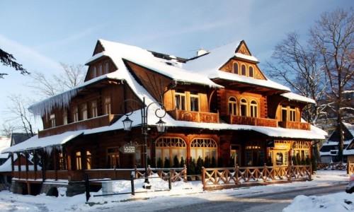 Zdjęcie POLSKA / Powiat tatrzański / Zakopane / Willa, w której mieszkał Joseph Conrad Korzeniowski