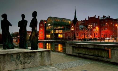Zdjęcie POLSKA / Bydgoszcz / Bulwar nad Brdą /