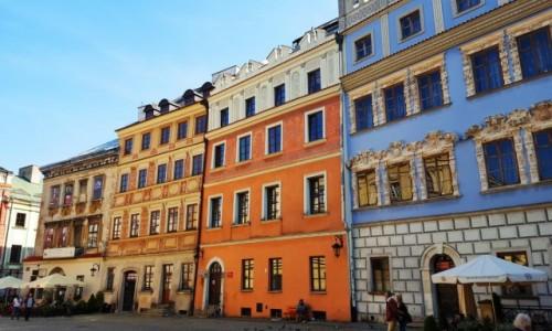 Zdjęcie POLSKA / Lubelskie / Lublin / Lubelskie kamieniczki