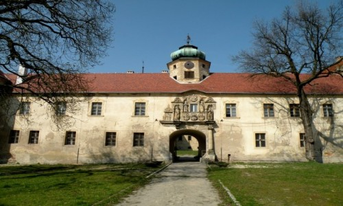 Zdjęcie POLSKA / opolskie / Głogówek / Brama do zamku