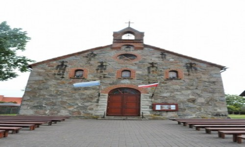 Zdjęcie POLSKA / Pomorskie / Rowy / Rowy, kościół
