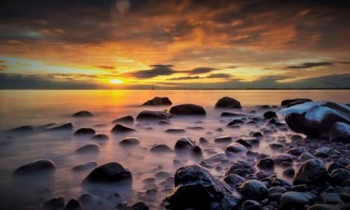 Zdjęcie POLSKA / pomorskie / Orłowo / świt na zatoką