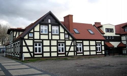 Zdjęcie POLSKA /  pomorskie / Ustka / Zabytkowy dom