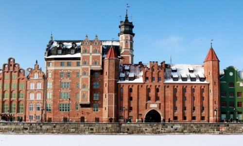 Zdjęcie POLSKA / Pomorskie / Gdańsk / Dom Przyrodników.i Brama Mariacka