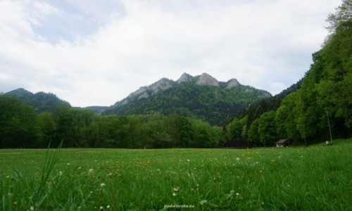 Zdjęcie POLSKA / Pieniny / Trzy Korony / Trzy Korony wiosną