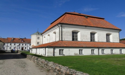 Zdjecie POLSKA / Podlasie / Tykocin / Tykocińska synagoga.