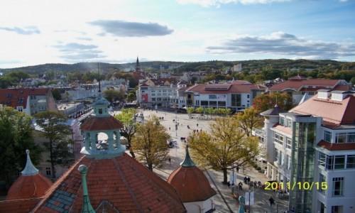Zdjęcie POLSKA / - / Sopot / Sopot - widok z góry